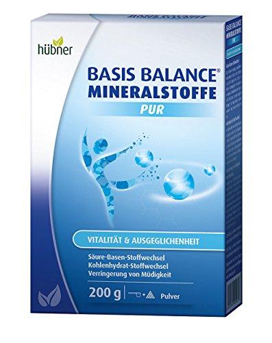 Hübner Basis Balance Mineralstoffe Pur für den Säure-Basen Stoffwechsel, Kohlendydrat-Stoffwechsel