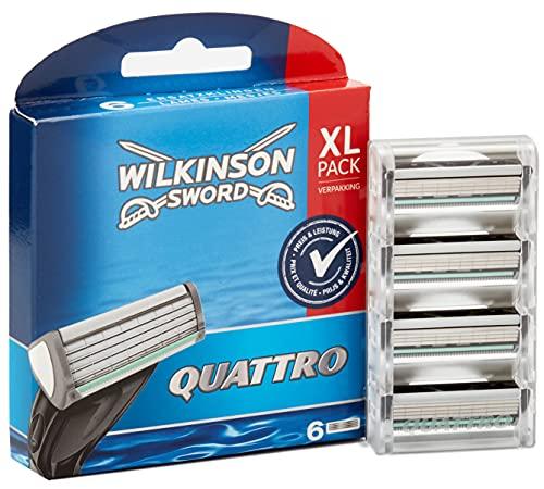 Cuchillas de afeitar Wilkinson Sword Quattro