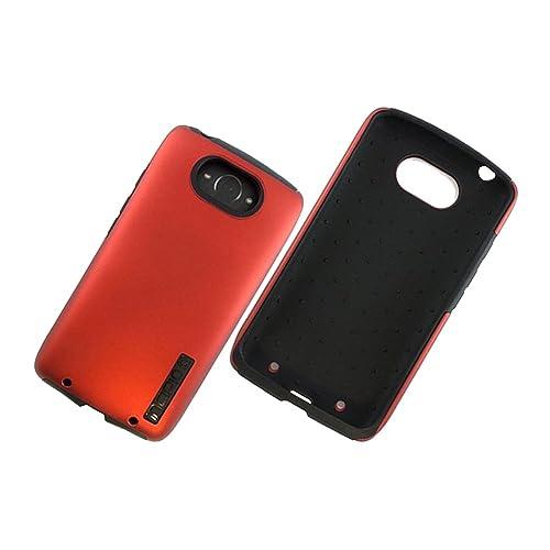 Original Incipio DualPro Dual Layer Protection Case for Motorola Droid Turbo (Red)