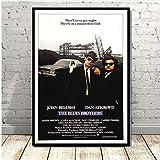 JMHomeDecor Drucke Poster Blues Brothers Vintage Film