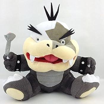 TILTON Super Mario Bros Plush Anime 7.1 /18cm Morton Koopa Jr Koopalings Doll Stuffed Animals Cute Soft Collection Toy Best Gift for Kids