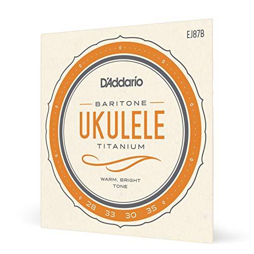 d'Addario EJ87B - Juego de cuerdas para ukelele barítono de