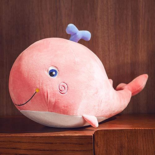 Little Dolphin Knuffel Schattige Walvis Pop Kussen Aquarium Dier Gift-Pink_65cm