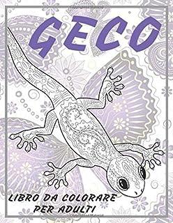 Geco - Libro da colorare per adulti 🦎