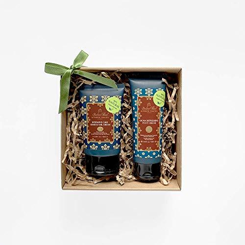 Geschenkverpackung, Jasmin Hand- und Fußpflege, Handcreme Naturkosmetik 100ml, Fußcreme 100ml