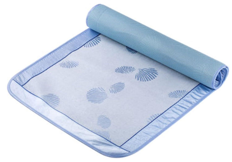ベビー 赤ちゃん用 天然のポリエステル製のベッドシート?アンペラ?むしろ?寝ござ?上敷き?サマーマット 柔らかい 涼しい 通気 湿気を防ぐ 防カビ 抗ダニ 快適