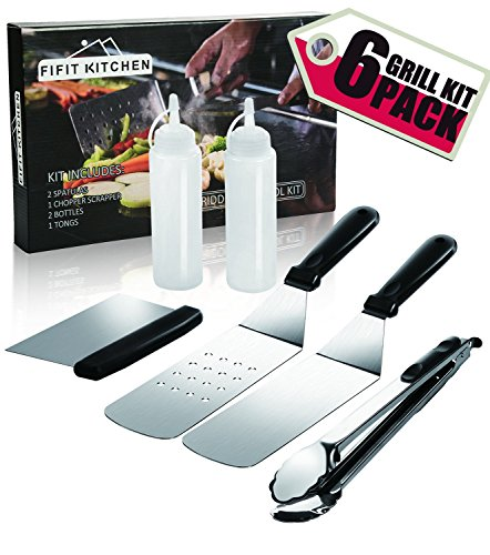 FIFIT KITCHEN Grill Griddle Accessories BBQ Tool Kit