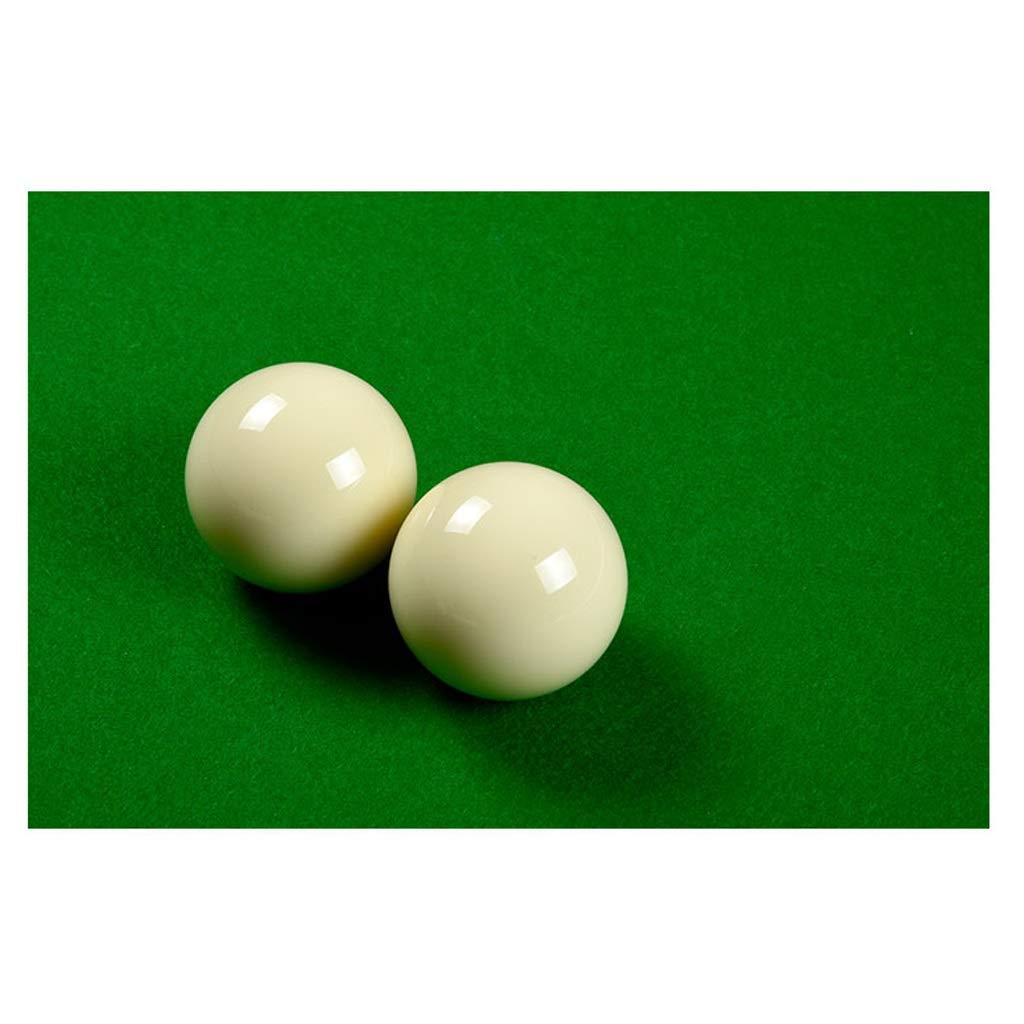 ZXH Bolas de Billar, 2 1 / 4inch (57.2mm) White Cue Ball Billar Pool Snooker Práctica de Entrenamiento (Color : B): Amazon.es: Deportes y aire libre