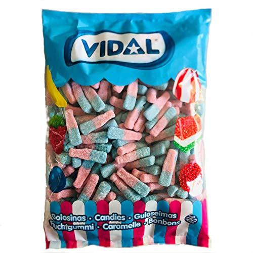 Botellas Azul Tutti Frutti Efervescente VIDAL 250 Unid