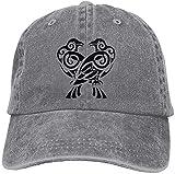 Gorra de béisbol Odin's Ravens Plain, ajustable, vaquero de Marvel, para mujeres y hombres
