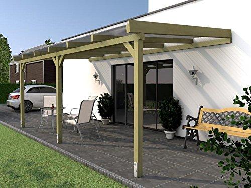 Terrassenüberdachung BORKUM II Wintergarten 500x400cm