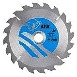OX Wood Cutting Circular Saw Blade 160/20mm, 20 Teeth ATB