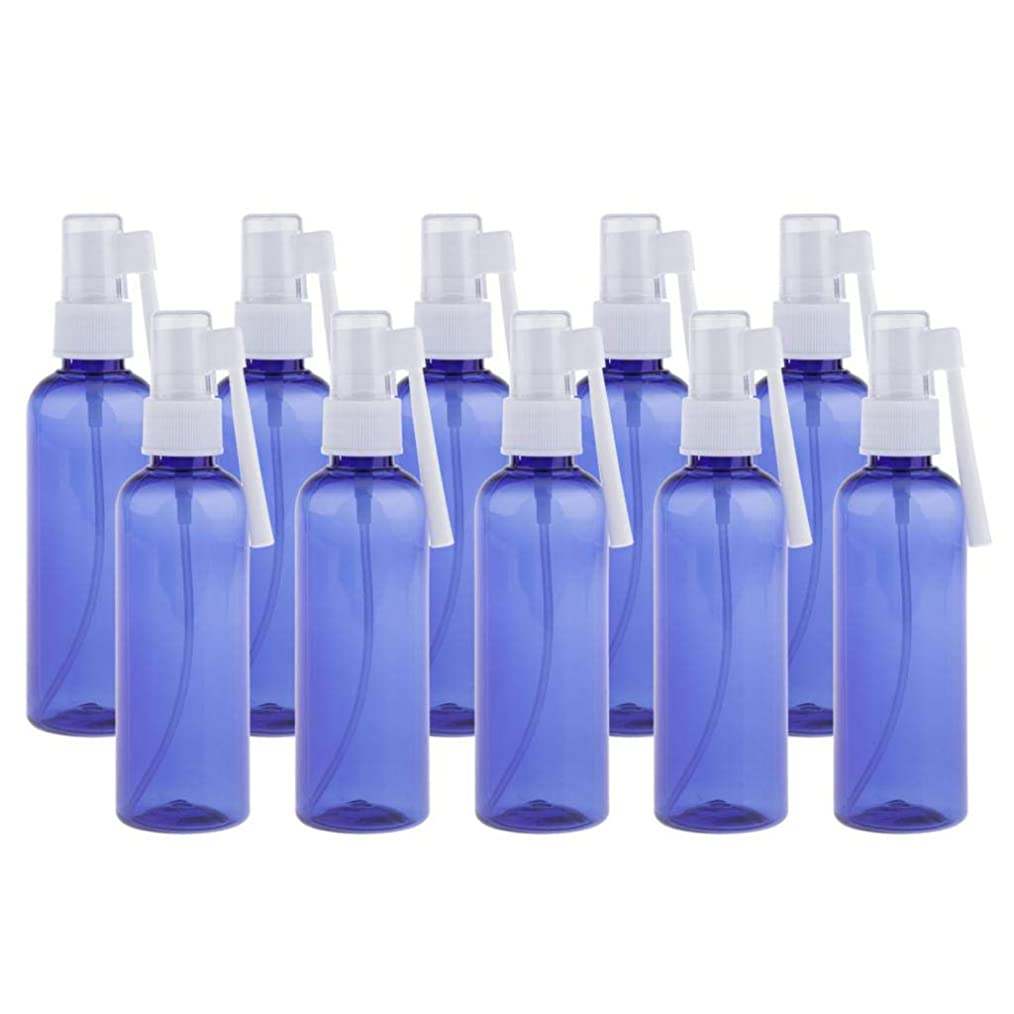 義務付けられたお風呂のぞき穴Perfeclan スプレーボトル 細かいミスト 100ml 点鼻噴霧 スプレーコンテナー 全2色 - 青