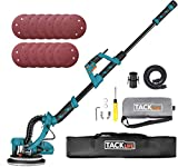 TACKLIFE 800W Self-Cleaning Giraffe Sander, 500-1800RPM 6 Adjustable Speeds, 4.5m Cable, Ø 225 mm 12pcs Sanding Disc, LED Lamp, 2M Hose for Dust Extraction | PDS03AS