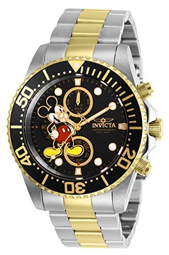 Invicta 27389 Disney Limited Edition Mickey Mouse Orologio da Uomo acciaio...