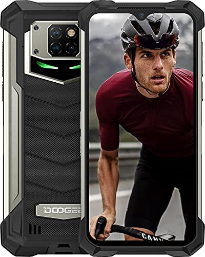 "DOOGEE S88 Plus (2021) Móvil 10000mAh Batería, 8GB+128GB Moviles Resistente Antigolpes, Cámara Triples 48MP+Cámara Frontal 16MP,IP68 IP69K Telefono, 6.3""FHD, Soporte Carga Inalámbrica, LED/NFC, Negro"