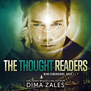 The Thought Readers audiobook cover art