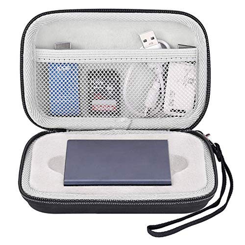 MOSISO Hard Drive Case Compatible with Samsung T3 T5 Portable SSD...