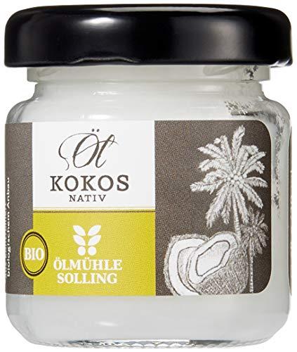 Ölmühle Solling - BIO - Kokosöl nativ - 1. Kaltpressung - Premium Rohkostqualität, 1er Pack (1 x 30 ml)