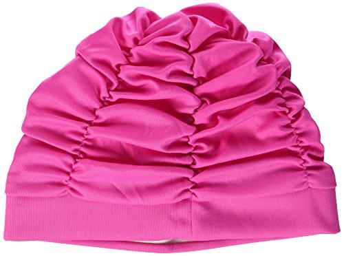 Beco Bonnet de Bain en Tissu pour Femme, Rose, Taille Unique