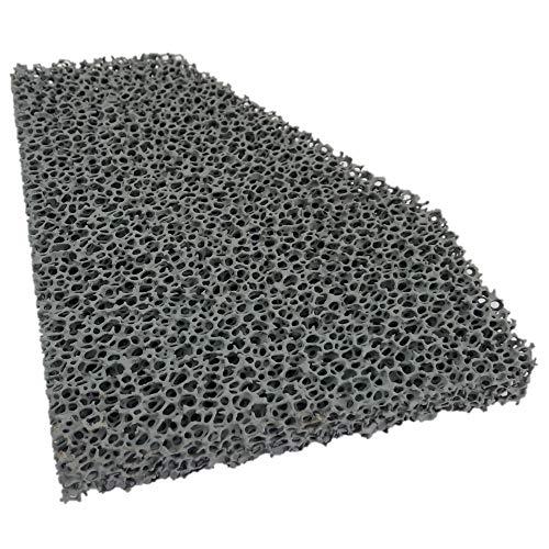 Flamado Kaminofen Feinstaub Rußfilter 200 x 158 x 25 mm Kamin Brennraum Ersatzteil