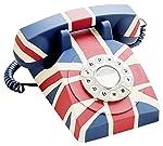 GPO Vintage - Teléfono fijo de estilo an...