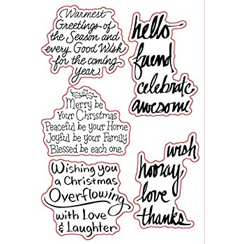 clear stamps for scrapbooking and card making clear stamps christmas clear stamp photo album decorative