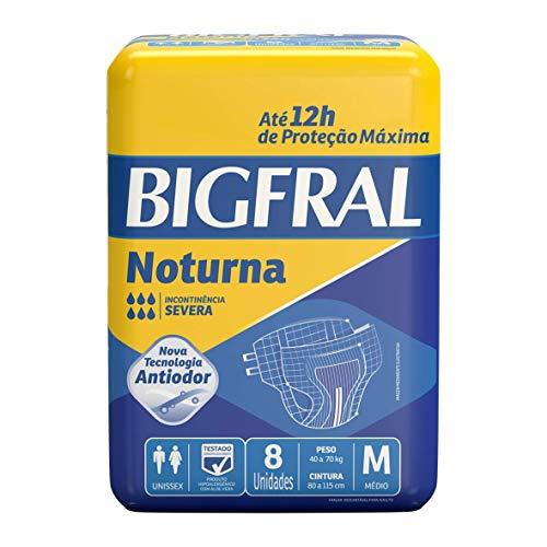 Fralda Geriátrica Notua, Bigfral, Azul Escuro, M, Bigfral, Azul Escuro, M