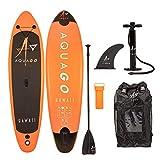 "Wido 9.9"" Aquago Hawaii Inflatable SUP Kids Paddle Board ISUP Surf Complete Kit"