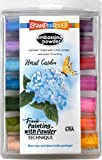 Stampendous EK144 Embossing Powder 14/Pkg 4.09oz-Floral Garden, Assorted