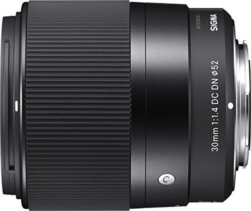 Sony Alpha 6400 E-Mount Systemkamera (24 Megapixel, 4K Video, 180° Klapp-Display, 0.02 Sek) schwarz & Sigma 30mm F1,4 DC DN Contemporary Objektiv (52mm Filtergewinde) für Sony-E Objektivbajonett