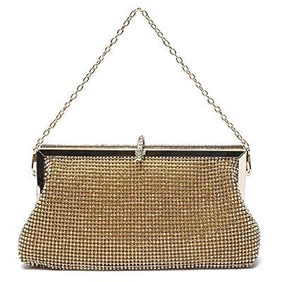Mlife Women Crystal Clutch Evening Bag
