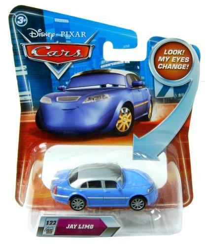 Disney Pixar Cars R8166 Jay Limo Look my eyes change
