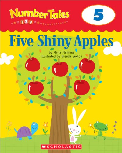 Number Tales: Five Shiny Apples (English Edition)