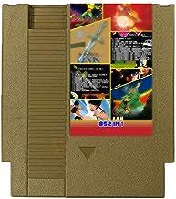 Cartucho de cartas de jogo Cenxaki 852 em 1 para console Nintendo NES (dourado)