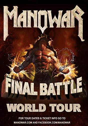 Generic Manowar The Final Battle 2017 World Tour Foto Poster Kings of Metal 003 (A5-A4-A3) - A3