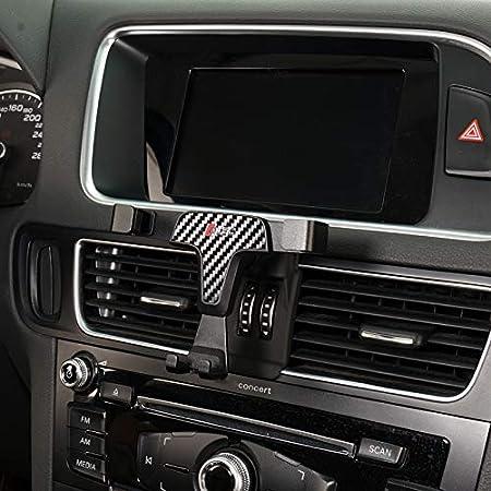 Lunqin Kfz Halterung Für Audi Q5 Sq5 2010 2020 Auto Zubehör Navigations Halterung Innendekoration Handy Halterung For Audi Q5 Sq5 2010 2017 Elektronik