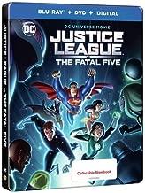 DCU: Justice League vs The Fatal Five Exclusive Limited Edition Steelbook (Blu-Ray + DVD + Digital) (Blu-Ray + DVD + Digital)