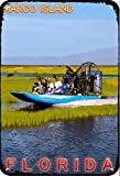 ERMUHEY The Funny Marco Island Everglades Airboat Florida