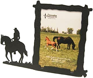 Female Horse Back Rider 3X5 Vertical Picture Frame