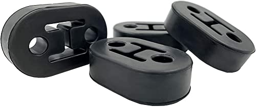 lowest Universal Heavy Duty Rubber, online Exhaust Tail Pipe Mount Bushing, High Density Bracket Hanger, Insulator Material, Small Part Handles Great Jobs, Not-Easy-Dry-Rot (Pack online of 4, 75 mm/2.8 IN) online sale
