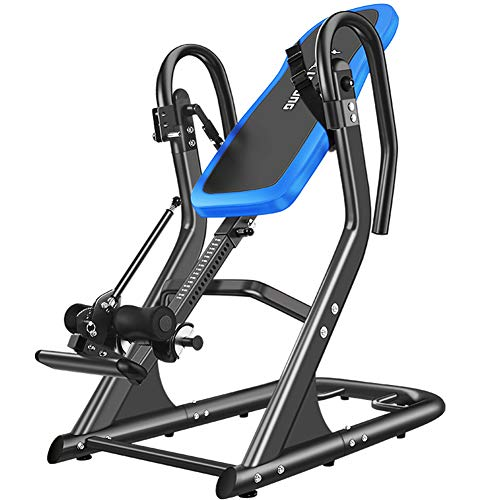 Find Bargain Heavy Duty Inversion Table Health & Fitness Decompression and Extension Machine with Sa...