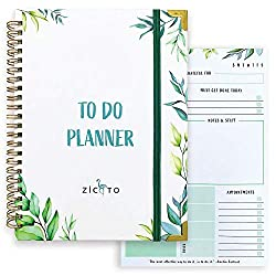 greenery inspired to-do planner