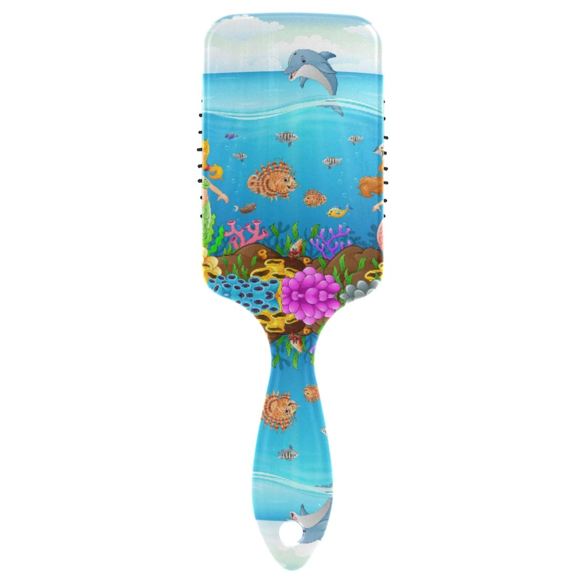 Popular products Linomo Hair Brush Cartoon Mermaid Dolphin New Free Shipping Massage Co Cushion Air