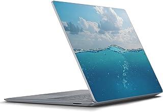Surface Laptop4 Laptop3 15インチ 専用スキンシール igsticker Microsoft サーフェス ラップトップ カバー フィルム ステッカー アクセサリー 保護 018299 海 夏
