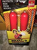 Protects from Hooks Safe Goliath Kids Safety Bobbers by Rocket Fishing Rod -