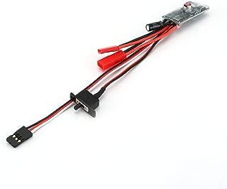 chiwanji Antenna Decorativa in Metallo 2 Pezzi con Accessori Bandiera per 1//10 RC Crawler