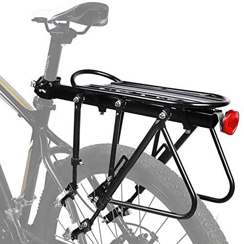 NAIZEA Bike Racks Bike Carrier Rack Bike Cargo Racks Solid Bearings Universal Adjustable Bicycle Luggage Cargo RackCycling Equipment Stand Footstock