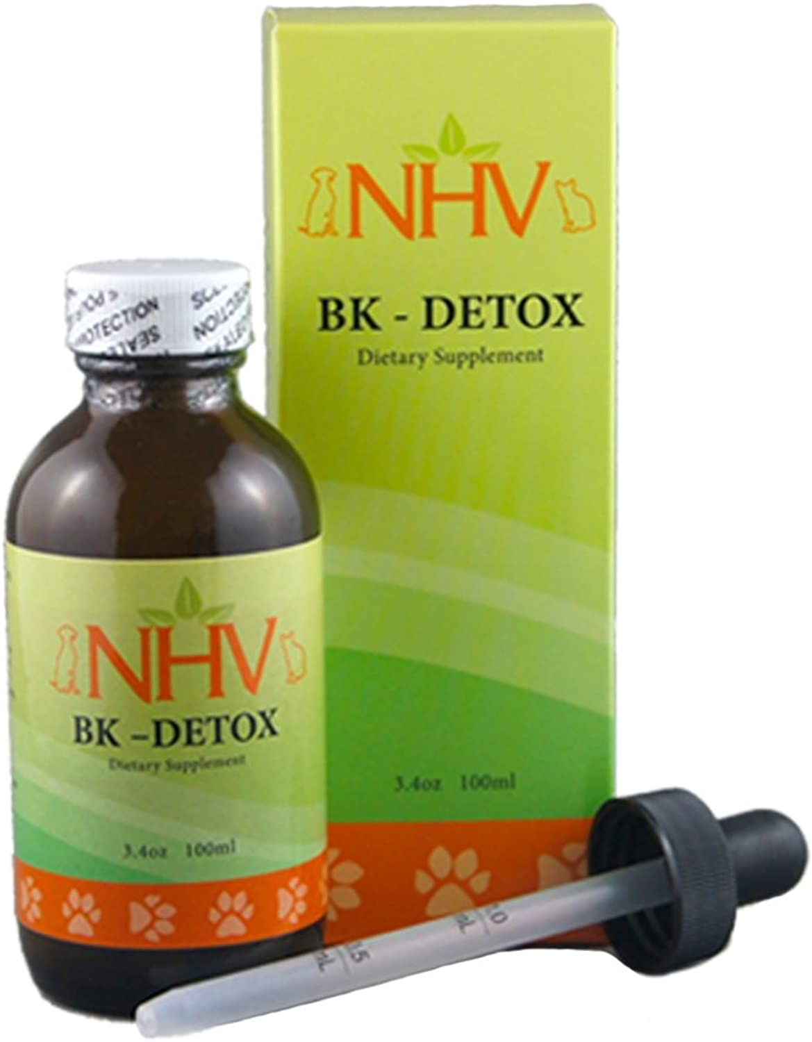 NHV BK Detox  Natural Herbal Supplement Helps Detoxify, Predect, and Support Your Pet's Immune System