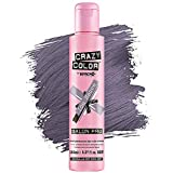Crazy Color Hair Dye - Vegan and Cruelty-Free Semi Permanent Hair Color - Temporary Dye for Pre-lightened or Blonde Hair - No Peroxide or Developer Required (ICE MAUVE)